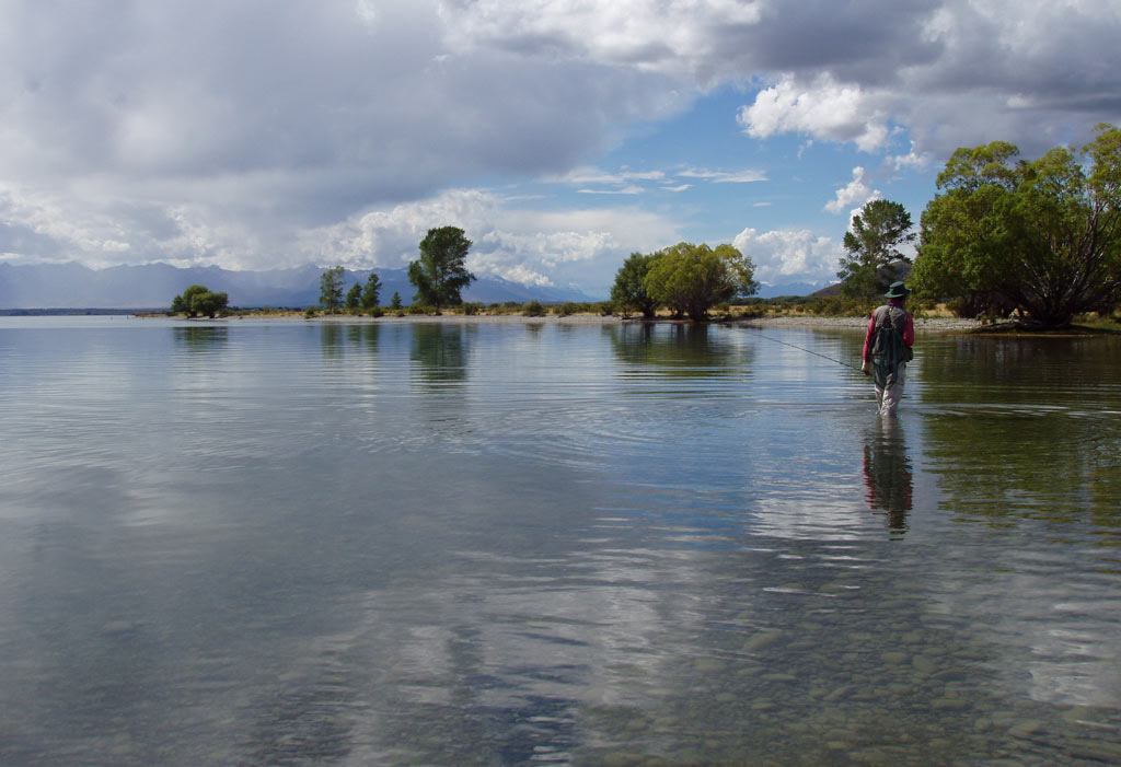 pêche en lac,