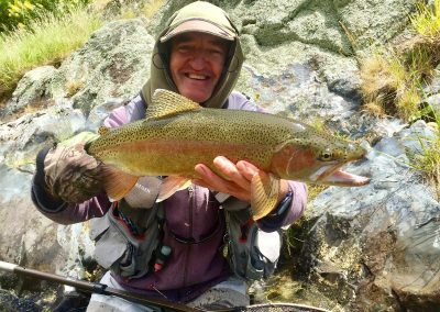 Alan captured this super rainbow with an SBN model 010, #16 in a small local stream