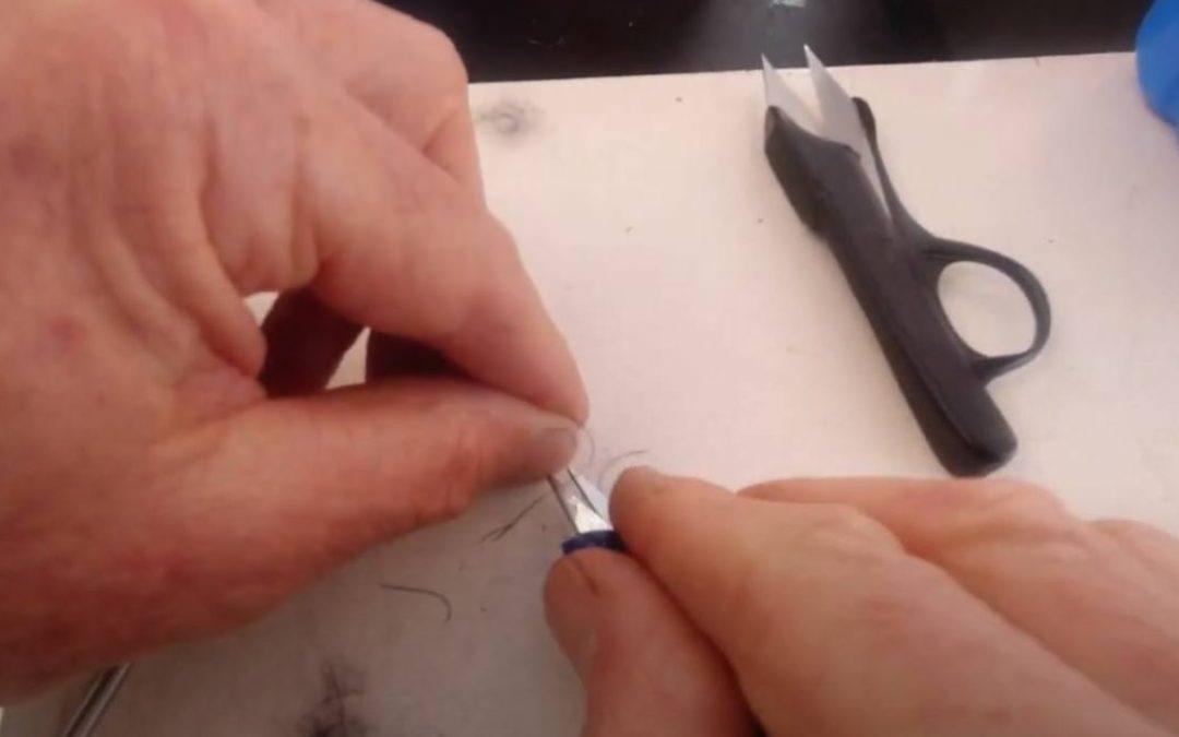 How To Tie In Rubber Legs for SBN fishing flies